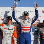 Spencer Pigot was at the top step on the podium for five of six U.S. F2000 Winter Championship races last weekend, including a Sunday sweep at Palm Beach Int'l Raceway.