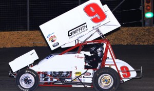Gary Wright won the ASCS Gulf South Region feature at Royal Purple Raceway in Baytown, Texas in 2012. (RonSkinnerPhotos.com)