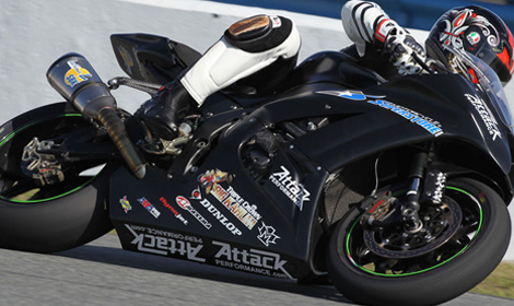 Steve Rapp will race a CRT bike at Indianapolis Motor Speedway in the MotoGP race. (Photo: AMA Pro)