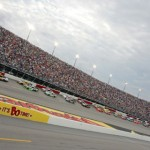 The NASCAR Sprint Cup Series field prepares to take the green flag during the Bojangles Southern 500 at Darlington (S.C.) Raceway. (HHP/Alan Marler Photo)