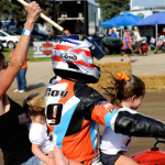 Willie McCoy led the only lap that counted at the Springfield Mile. (Photo: AMA Pro)