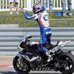 Marco Melandri won race two at Miller Motorsports Park. (Photo: World SBK)