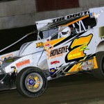 Danny Johnson won the Clash at the Can modified feature at Pennsylvania's Penn Can Speedway. (Jay Fish photo)