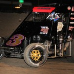 Darren Hagen, seen here at Gas City I-69 Speedway in 2012, hopes to repeat as Indiana Midget Week champion in 2013. (TWC Photo)