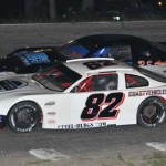 Bobby Baillargeon (82) won the Granite State Pro Stock Series feature at New Hampshire's Hudson Speedway. (Eric LeFleche photo)
