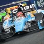 Simon Pagenaud finished third Sunday during the IZOD IndyCar Series Grand Prix of Baltimore. (Al Steinberg Photo)