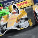 Ryan Hunter-Reay picked up his fourth IZOD IndyCar Series victory of the year Sunday on the Streets of Baltimore. (Al Steinberg Photo)