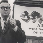 Chris Economaki spent many years working for ABC. (NSSN Archives Photo)