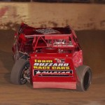 Indiana's Frank Marshall defended his modified championship as he won it again at Michigan's Hartford Motor Speedway for 2012. (Gary Gasper photo)