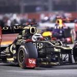 Kimi Räikkönen rolls through a corner during the Singapore Grand Prix. (Steve Etherington Photo)