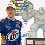 Brad Keselowski was the top vote earner for the 2013 AARWBA All America Team. (HHP/Alan Marler Photo)