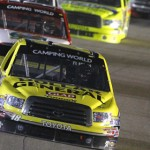 Kyle Busch will have support from Toyota Care in 10 NASCAR Camping World Truck Series events in 2013. (HHP/Brian Lawdermilk Photo)