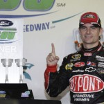 Jeff Gordon picked up his second NASCAR Sprint Cup Series victory of the season Sunday at Homestead-Miami Speedway. (HHP/Christa L. Thomas Photo)