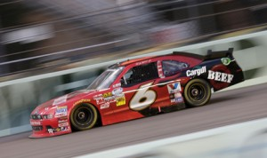 Cargill Beef, which partnered with Ricky Stenhouse Jr. during his two NASCAR Nationwide Series championship season, will join Stenhouse in the Sprint Cup Series this year in five events. (HHP/Harold Hinson Photo)