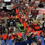 The SEMA trade show floor during the 2012 edition of the show. (SEMA Photo)