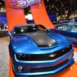 Hot Wheels had this special Camaro on display during the 2012 SEMA trade show. (SEMA Photo)