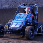 Andrew Felker won the 2012 Lucas Oil POWRi National Midget Series champion. He hopes to double his fun in 2013 by winning that title again as well as the Speedway Motors 600cc Outlaw Micro Series title. (Don Figler Photo)