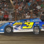 Brian Shirley, 2012 DIRTcar Summernationals Hell Tour champion (Don Figler Photo)