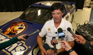 Michael Waltrip heads to Goodwood once again this year. (HHP/Harold Hinson Photo)