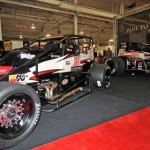 USAC had its display set up at the Motorsports Show 2013 in Oaks, Pa., last weekend. (Harry Cella Photo)