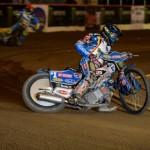 Greg Hancock finished a strong second in the inaugural Monster Energy World Speedway Invitational. (Simon Cudby Photo)
