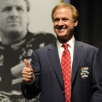 Rusty Wallace was one of five new inductees in the NASCAR Hall of Fame Friday in Charlotte, N.C. (NASCAR Photo)