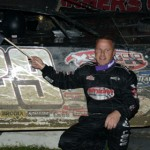 Darrell Lanigan scored his first victory of the 2013 World of Outlaws Late Model Series season Friday at Bubba Raceway Park in Ocala, Fla. (Al Steinberg Photo)