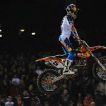 Ryan Dungey claimed his first Monster Energy Supercross victory of the season last week at Angel Stadium in Anaheim, Calif. (Feld photo)