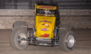 Tracy Hines is one of  the most prolific USAC National race winners ever, but remains focused on the present. (John DaDalt Photo)