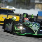 The Extreme Speed Motorsports HPD ARX-03b shared by David Brabham, Scott Sharp and Guy Cosmo completed only 281 laps during the 12 Hours of Sebring. (Al Steinberg Photo)