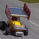 Brian Gerster set fast time for Sunday's TRUFUEL Must See Racing Xtreme Sprint Series race at Mobile Int'l Speedway in Irvington, Ala. (Chris Seelman Photo)