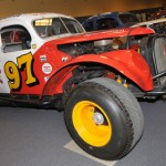 A vintage modified during the IRCO Dirt Track Heroes Show. (Harry Cella Photo)