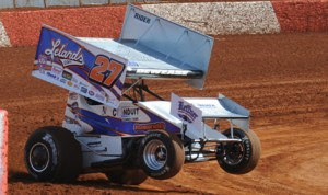 Lance Dewease, seen here at Lincoln Speedway in March, will part ways with Heffner Racing after the 2013 season. (Julia Johnson Photo)
