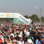 Sebring (Fla.) Int'l Raceway was packed for Saturday's 12 Hours of Sebring. (Ted Rossino Jr. Photo)