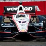 Will Power during practice Friday for the Honda Grand Prix of St. Petersburg. (Joe Secka/JMS Pro photo)