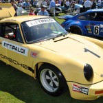 Emerson Fittipaldi's 1974 IROC Porsche RSR was on display during the 18th annual Amelia Island Concours d'Elegance. (Ralph Sheheen Photo)