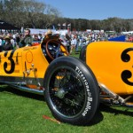 A classic 1927 Miller racer was among the vintage racers on display at the 18th annual Amelia Island Concours d'Elegance. (Ralph Sheheen Photo)