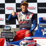 Takuma Sato scored a win for ABC Supply/AJ Foyt Racing at the 2013 Toyota Grand Prix of Long Beach in California. (IndyCar Photo)