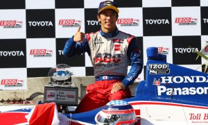 Takuma Sato scored a win for ABC Supply/AJ Foyt Racing at the 2013 Toyota Grand Prix of Long Beach in California. (IndyCar Photo)