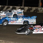 The stars of the World of Outlaws Late Model Series will have to contend with a new tire rule during the 2013 edition of the Wild West Tour. (Mike Ruefer Photo)