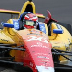 Carlos Munoz completed the Rookie Orientation Program Saturday at Indianapolis Motor Speedway. (IndyCar Photo)