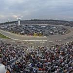 Fans watch Saturday's Toyota Owners 400 at Richmond (Va.) Int'l Raceway. (HHP/Harold Hinson Photo)