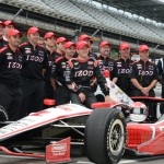 A.J. Allmendinger safely qualified for his first Indianapolis 500 on Saturday. (Al Steinberg Photo)