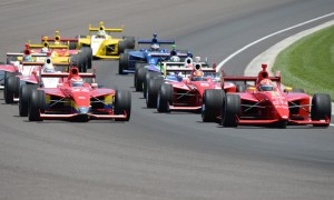 This year's Freedom 100 marks the 12th running of the Indy Lights race. (Al Steinberg Photo)