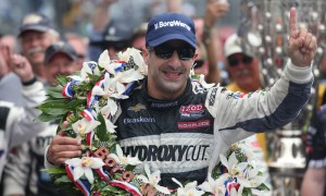 2013 Indianapolis 500 winner Tony Kanaan will look to repeat his Indy 500 win last year with a new team, Chip Ganassi Racing. (IndyCar Photo)