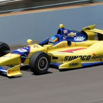 Townsend Bell during Tuesday's Indianapolis 500 practice session at Indianapolis Motor Speedway. (Dave Heithaus Photo)