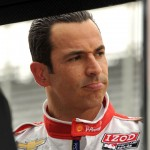 Three-time Indianapolis 500 winner Helio Castroneves Saturday at Indianapolis Motor Speedway. (Dave Heithaus Photo)
