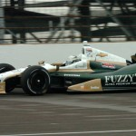 Ed Carpenter on track during qualifying for the 97th Indianapolis 500. (Don Figler Photo)