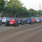 The USAC Silver Crown Series, seen here at the Indiana State Fairgrounds last year, will begin 2014 this Sunday at the Terre Haute (Ind.) Action Track. (Gordon Gill Photo)