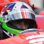 Dario Franchitti was transported to a local hospital after a vicious crash during Sunday's Grand Prix of Houston. (IndyCar Photo)